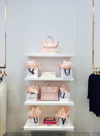 kimora lee simmons pink handbag beverly hills chantal boyajian blog
