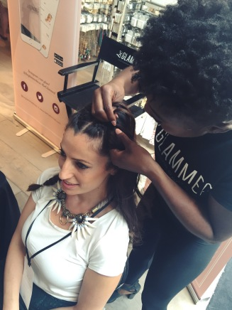 stylecon x topshop the grove hello summer chantal boyajian braids hair stylist be glammed