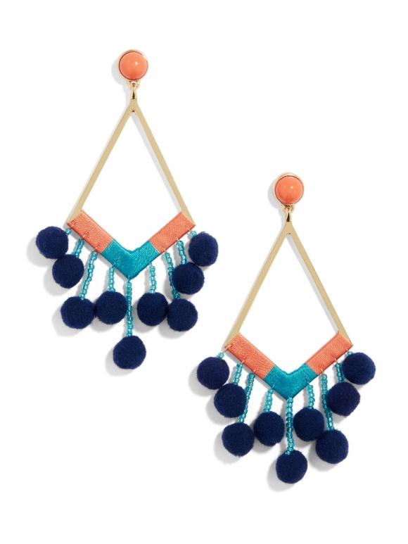pom pom earrings baublebar live authenchic